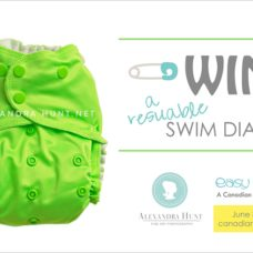 easy peasies swim diaper giveaway