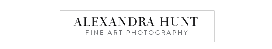 Vancouver Newborn and Wedding Photographer Alexandra Hunt logo